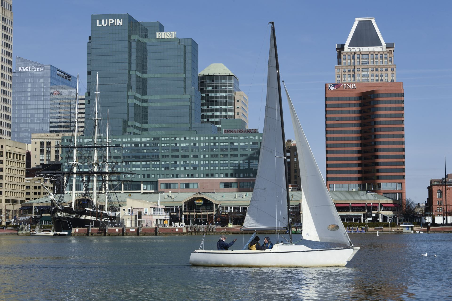 Sailing in the Inner Harbor